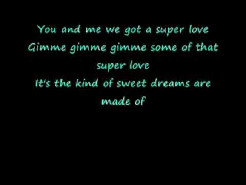 Celine Dion- Super Love With Lyrics