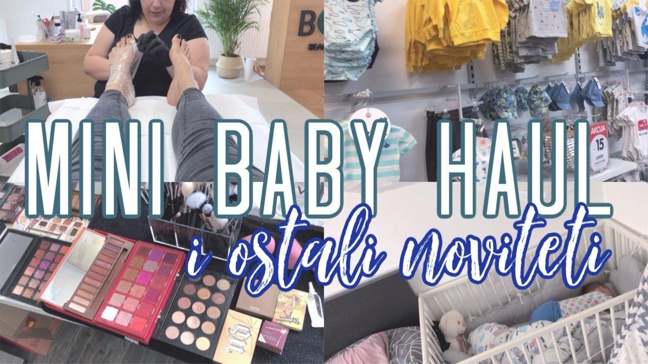 BABY HAUL I OSTALI NOVITETI! 👶 *tjedni vlog 11*