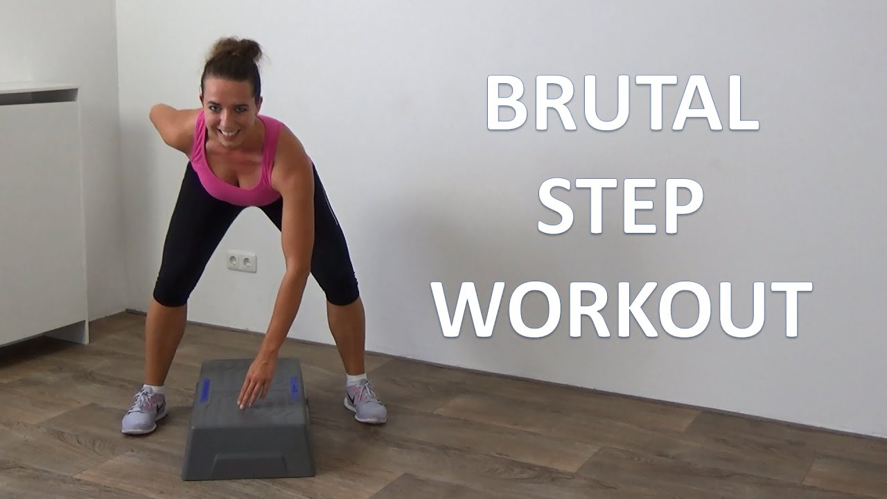 10 Minute Brutal Steps Cardio Workout