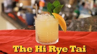 How To Make A Hi Rye Tai | Drinks Made Easy