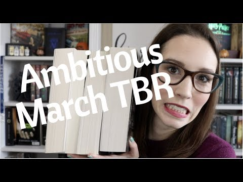 Ambitious March TBR