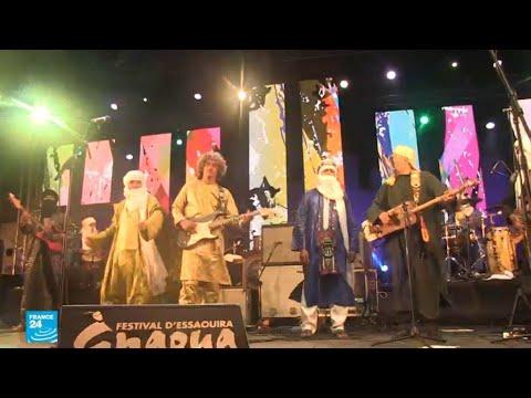 مهرجان موسيقى الكناوة في مدينة الصويرة المغربية  - نشر قبل 12 ساعة
