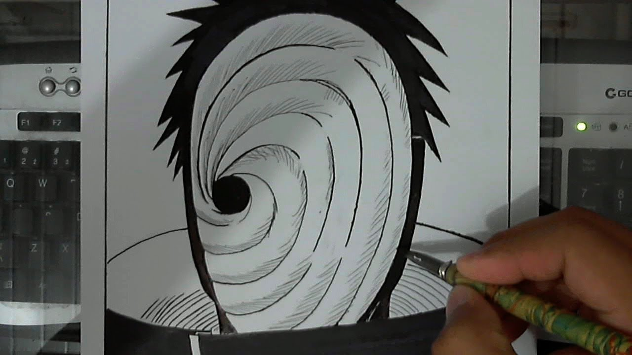How To Draw Tobi From Naruto Shippuuden