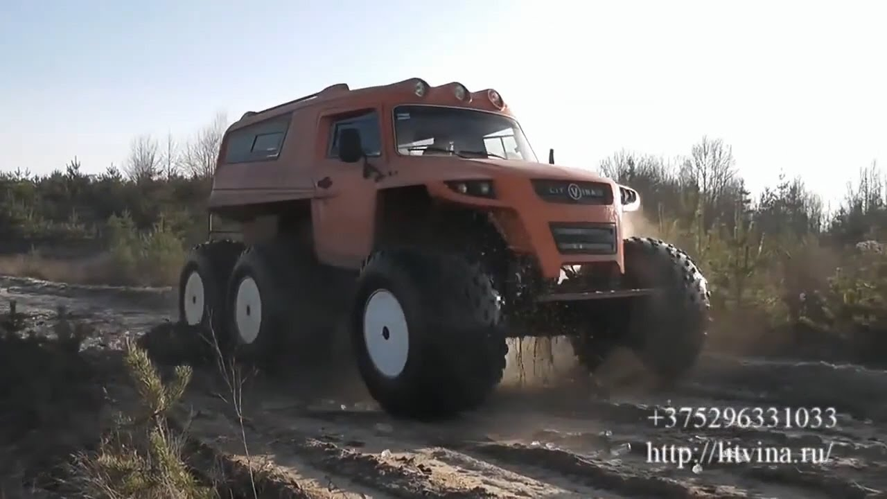 Вездеходы Литвина видео обзор. ATV Litvina video review.