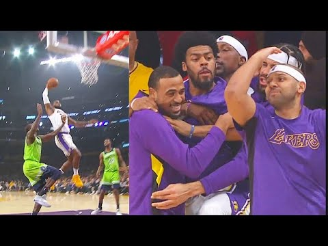 Lebron James Shocks Lakers After Destroying Gorgui Dieng With