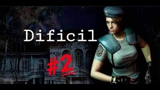 Resident evil|Parte2|Dificil|Jill|Ps4 Comentado