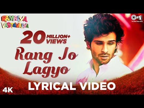 Rang Jo Lagyo Lyrical- Ramaiya Vastavaiya | Girish Kumar, Shruti Haasan | Atif Aslam, Shreya Ghoshal