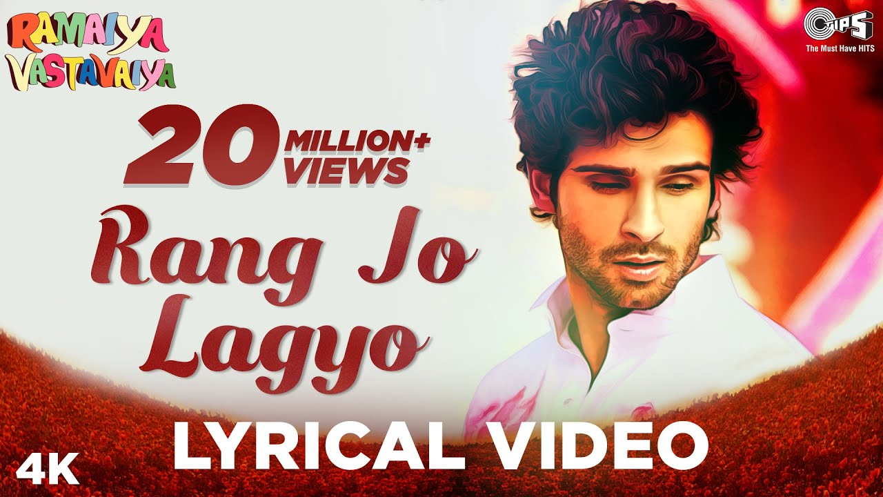 Download Rang Jo Lagyo Lyrical- Ramaiya Vastavaiya | Girish Kumar, Shruti Haasan | Atif Aslam, Shreya Ghoshal
