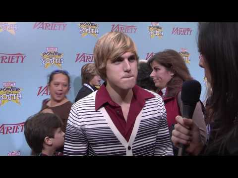 Cody Linley  Hannah Montana: Variety's Power of Youth 2009