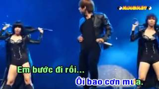 Video | Karaoke Cơn Mưa Ngang Qua | Karaoke Con Mua Ngang Qua