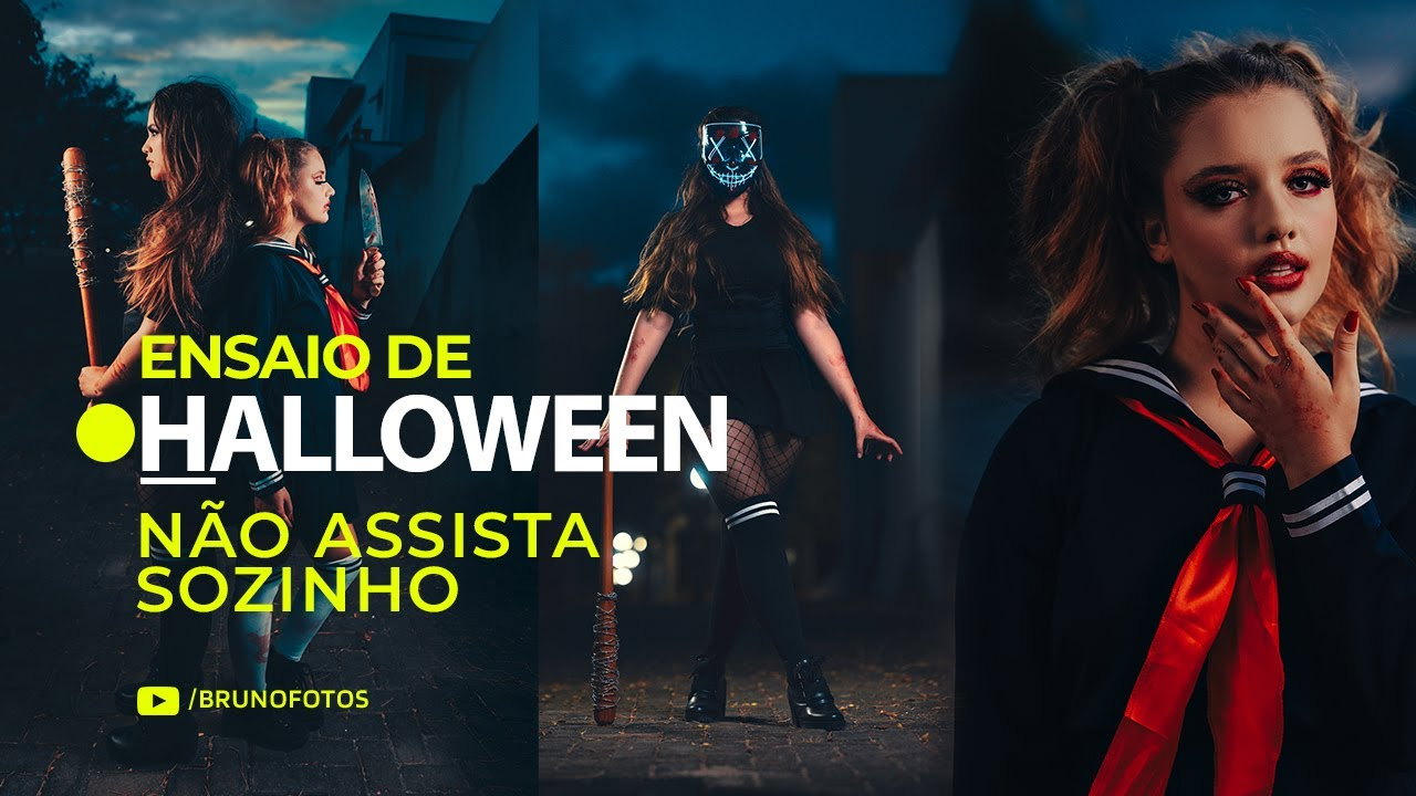 Ensaio de Halloween 🎃