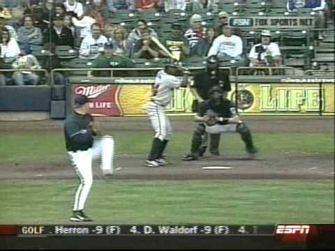 Ben Sheets throwing 18 Strikeouts for the Milwaukee Brewers on May 16, 2004