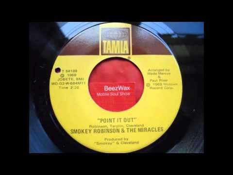smokey robinson & miracles - point it out