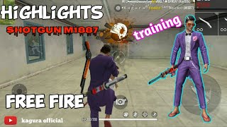 Highlights SHOTGUN M1887 || FREE FIRE INDONESIA
