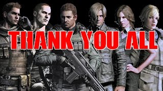 Just a thank you, to you lovely people of YT (Resident Evil 6 Gameplay)