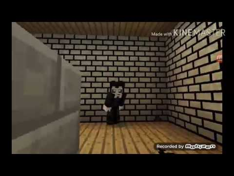 Minecraft Animation Wallpaper Bendy And The Ink Machine Trailer Minecraft Pe Role Play