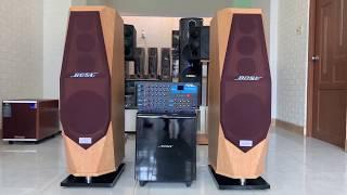 Dàn karaoke Loa kim cuong - âm ly 1506 Bluetooth - sub điện - test thử nhạc - 0932 784 238