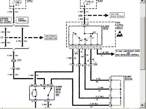 wiring diagram for blower motor wiring diagram detailed