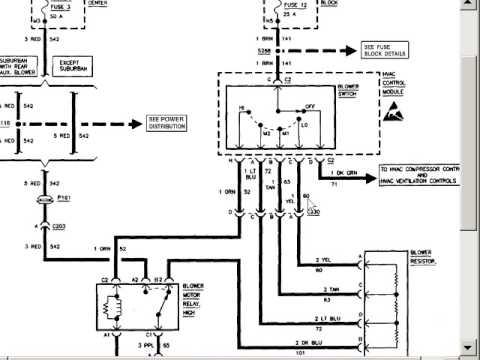 1990 peterbilt blower switch wiring  schematic wiring