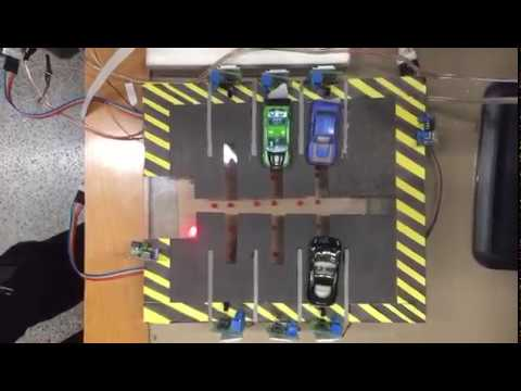 parking management system project using pic microcontroller