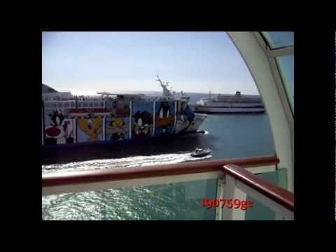 Moboy Wonder  Fast Cruise Ferry  Civitavecchia  15/0/9/2012