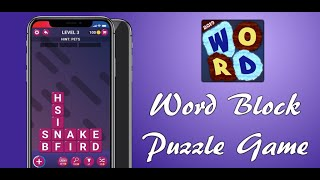 Word Block - Puzzle Game