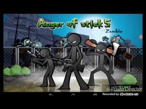 Anger of stick 5 Android Gameplay первый обзор игры