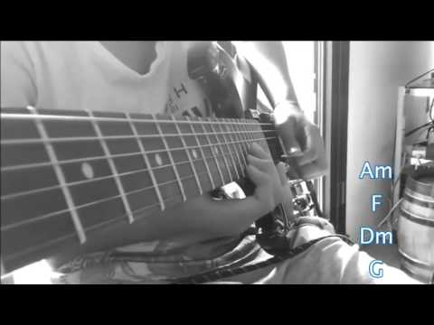 Amine - Señorita Cover et Guitare Tutorial