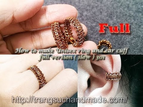 how to make macrame rings