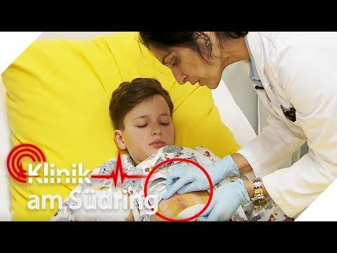 Dominik (11) hat üblen Riss im Bauch: Wer hat ihm so weh getan?   Klinik am Südring   SAT.1 TV