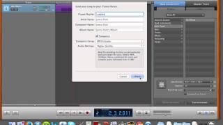 How to get a track from GarageBand to Soundcloud.com Tutorial