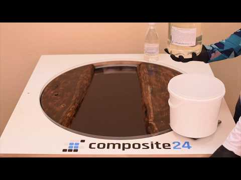 How To Make Epoxy Resin Table Using Clear Epoxy Casting Resin