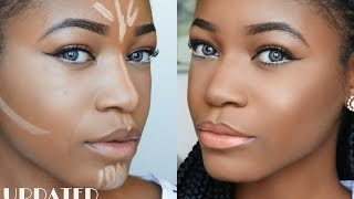 DETAILED Highlight & Contouring Routine (Beginner Friendly) ♥