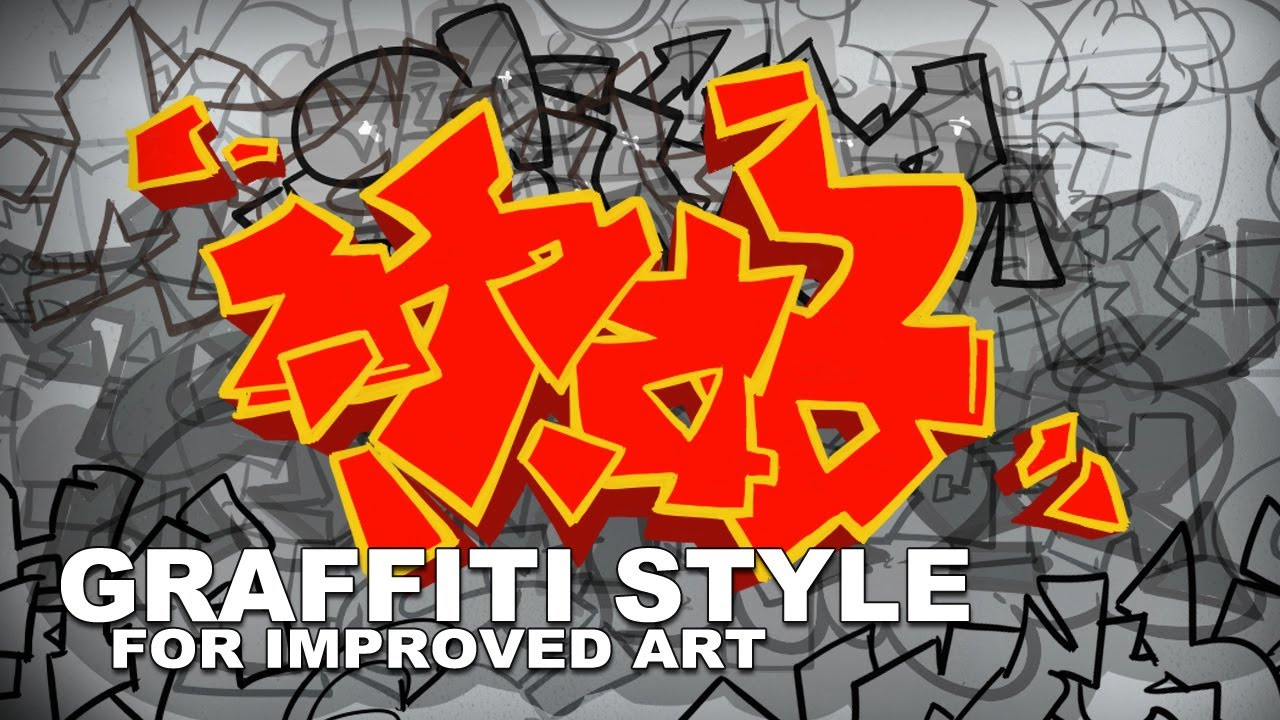 Graffiti Style for Improved Art
