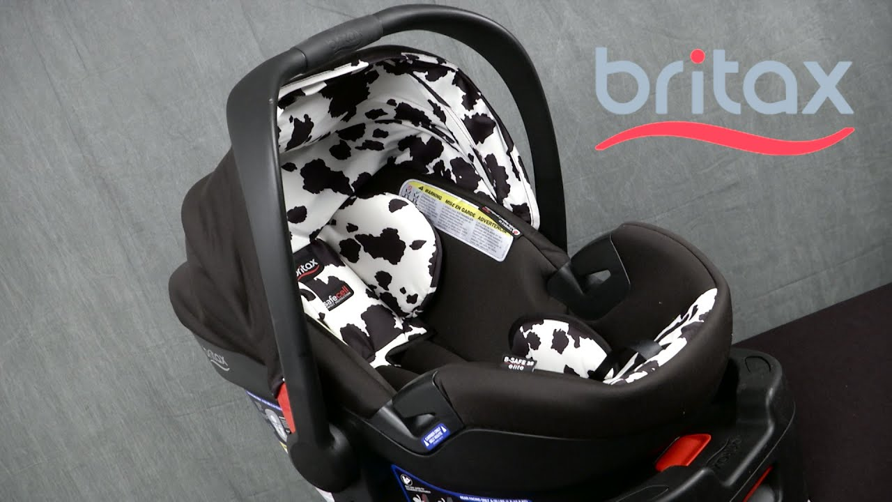 Britax B Safe 35 >> B-Safe 35 Elite Infant Car Seat from Britax - YouTube