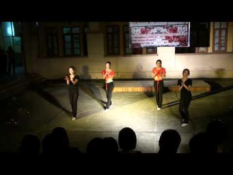 Aerobic - Lưu sinh viên Trung Quốc - Đại học Phương Đông