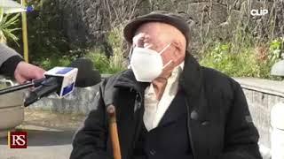 Sicilia - Vaccino anti-Covid a centenario (25.02.21)