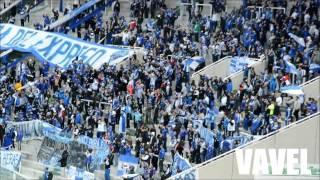 Hinchada de Godoy Cruz frente a Estudiantes / Por un lugar en la Libertadores / 28-05-16