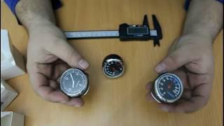 Araba İçin Dekoratif Saat-Termometre-Nem Ölçer İncelemesi.