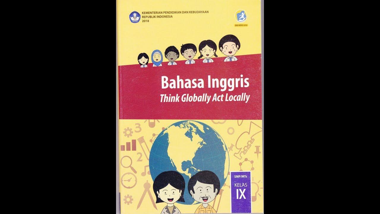 Buku Bahasa Inggris Kelas 9 - Dunia Sekolah ID
