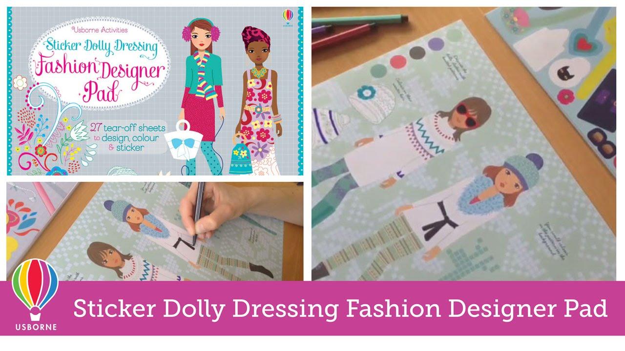 Fashion Sticker Dolly Dressing Sticker Dolly Dressing Fashion Designer We Fashion Arts Music Photography