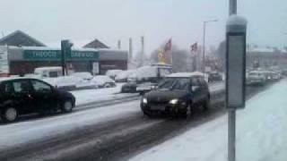 Zima w londynie, czyli klęska żywiołowa. 2 luty 2009