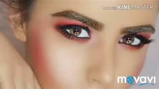 Видео урок Fashion образа для фотосессии макияж глаз Smokey