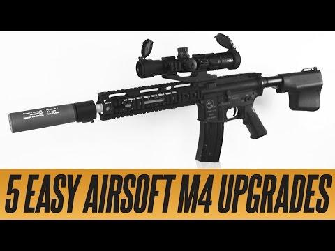 5 Easy Airsoft M4 Upgrades   Airsoftmegastore.com