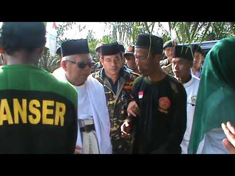 Rais 'Aam Syuriyah PBNU (Prof. Dr. KH. Ma'ruf Amin) Berkunjung Ke Kebun Konsain