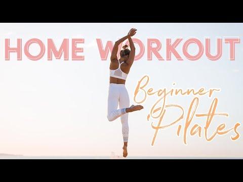 15min FAT BURNER: Lean Leg & Core Pilates at Home!