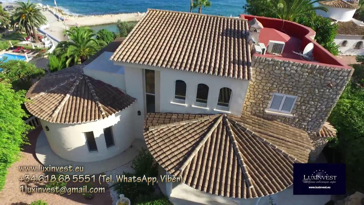 Купить элитную виллу на первой линии моря на Коста Бланка в Бениссе