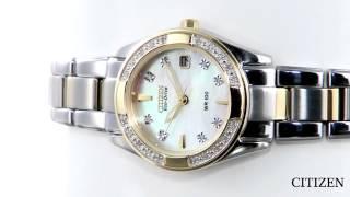 Citizen Regent Diamond Eco-Drive Ladies Watch EW1824-57D