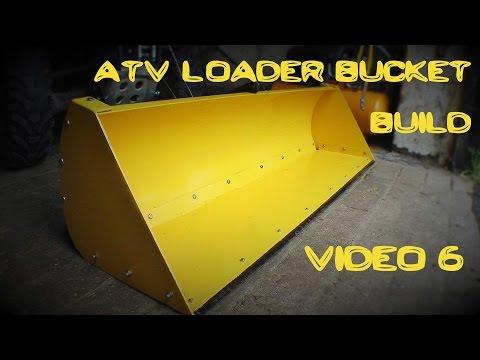 ATV Loader Bucket Build 6