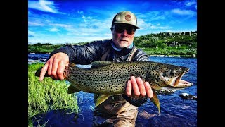 INCREDIBLE FISHING WITH HISSU & TOMMI. Big Trout.  Chili. River Varzina.